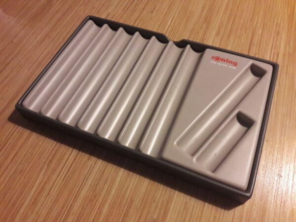 ROTRING Pen Tray Stand Display for 8 Pens