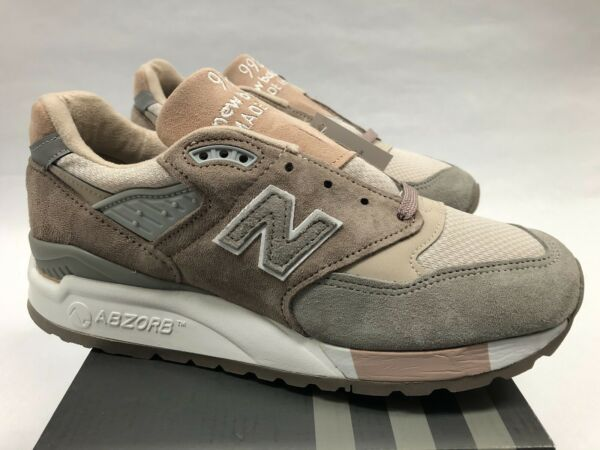 New Balance W998AWA 5 6 6.5 7 9 Pink Grey 998 Made in USA NEW DS Suede Amerca