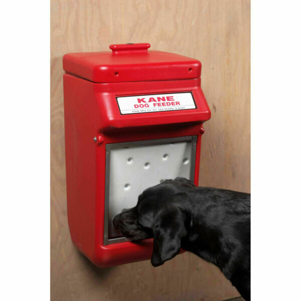Kane Automatic Dog Feeder 25 lb Capacity Red KDF 25 $88.95