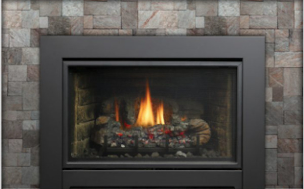 Kingsman IDV44 Direct Vent Natural Gas Fireplace Insert with Millivolt