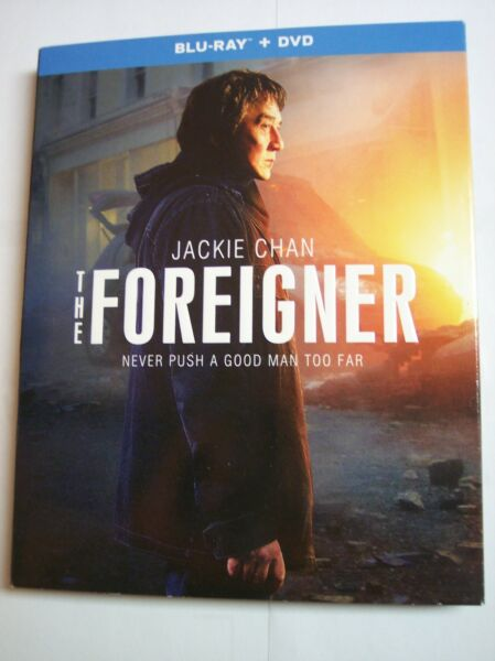 The Foreigner Blu ray DVD 2018 w Slipcover 2 Disc Set NEW Jackie Chan $15.84