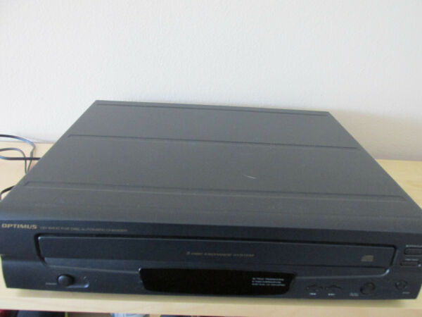 Optimus CD-6400 Compact Disc Automatic 5-Disc Changer with Remote $48.95
