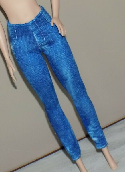 BARBIE DISTRESSED JEANS JEGGINGS FIT FASHIONISTA MODEL MY SCENE LIV FASHION DOLL