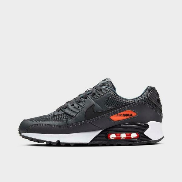 Brand New Nike Air Max 90 Athletic Basketball Leather Sneakers   Gray