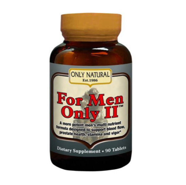 Only Natural for Men Only II 90 Tablets $38.94