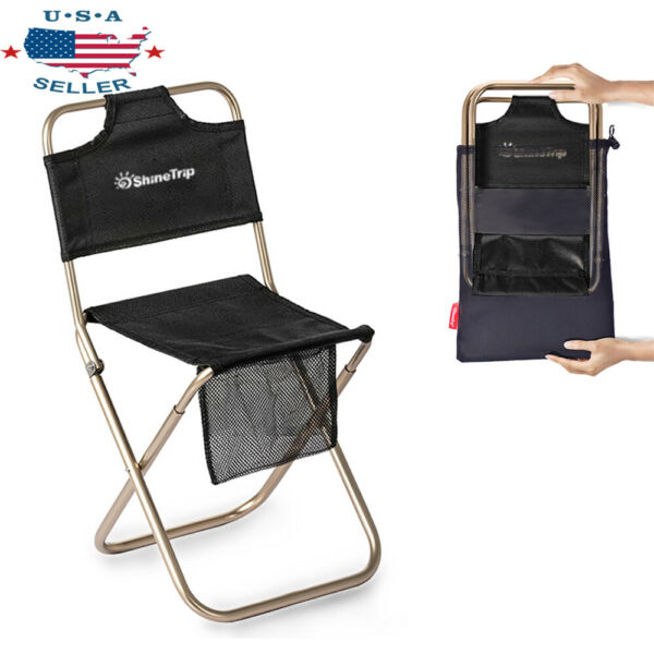 Camping StoolPortable Folding Travel Camp Fishing Chair Fordable Outdoor Chair
