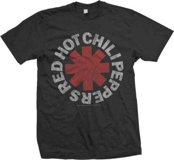 RED HOT CHILI PEPPERS Vintage Logo T SHIRT S M L XL 2XL Brand New Official $15.99