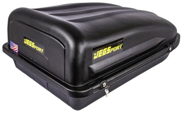 JEGS 90097 Rooftop Cargo Carrier Capacity: 10 cu. ft. 110 lb. Carrying Capacity $209.99