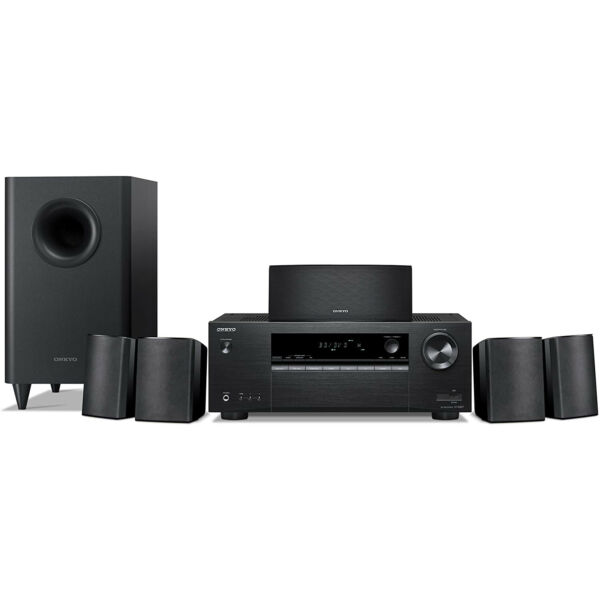 Onkyo HT-S3900 5.1-Channel Home Theater Receiver/Speaker Package **BRAND NEW**