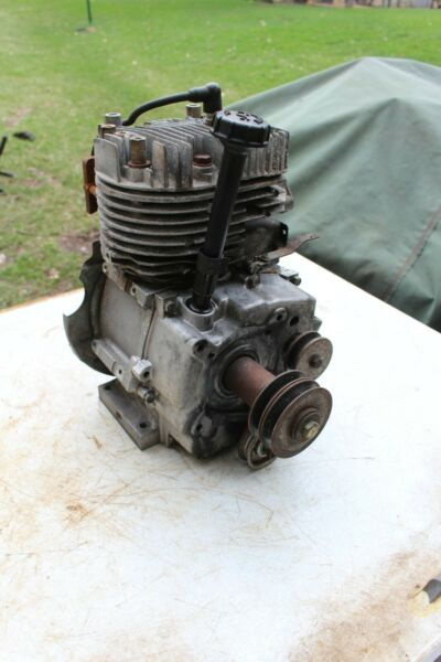 Tecumseh 10 HP snow king engine DUAL SHAFT PTO HMSK100 SPECIAL CRANKSHAFT