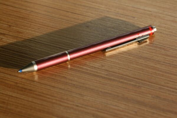 Extremely RARE Rotring Trio Coral Red Blue Pen Red Pen 0.7mm Pencil