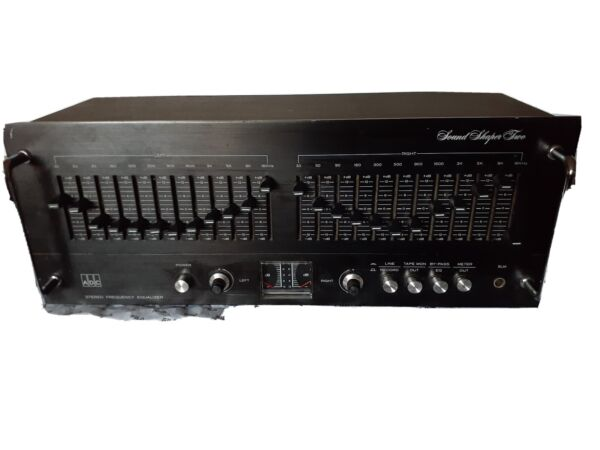 ADC SS-2 Sound Shaper Two 12 Band Stereo Frequency Equalizer Eq