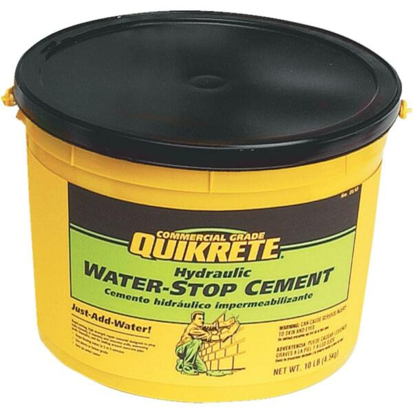 Quikrete 10 Lb Pail Hydraulic Water Stop Cement 1126-11  - 1 Each