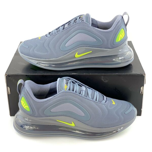 Nike Air Max 720 Cool Grey Volt Shoes Sneakers Green Gray Neon CT2204 001