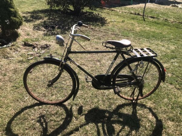Antique Pre war Yamaguchi Bicycle possibly military for restoration