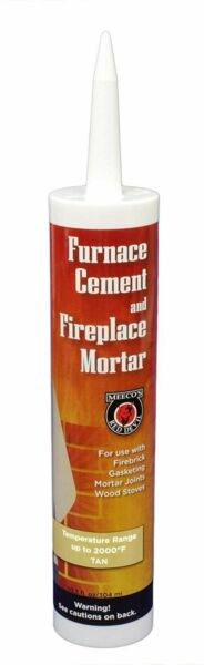 MEECO#x27;S RED DEVIL 122 Furnace Cement and Fireplace Mortar $11.01