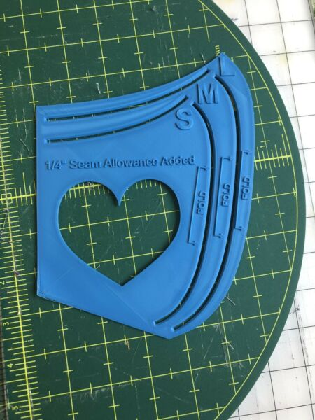 Mask Template   mask pattern  *3 sizes* 3.2mm comes with how to guide DIY mask
