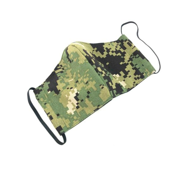 AOR2 Cloth Face Mask Military Navy NWU Reusable Washable Camo Cover MEDIUM $12.99