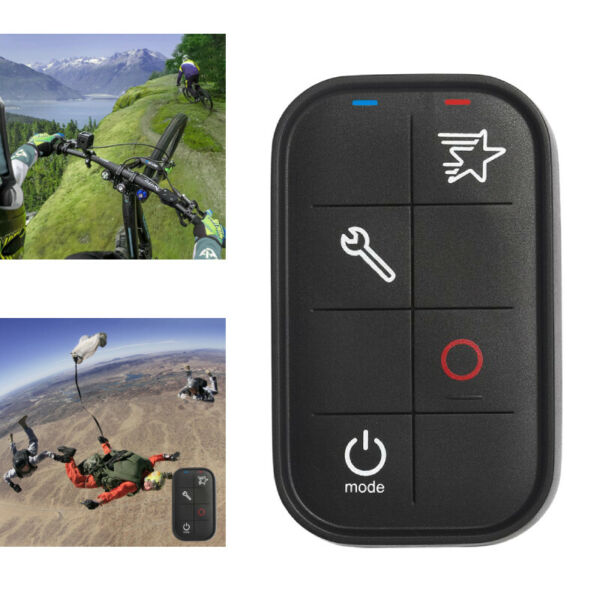 Smart Wireless WiFi Remote Control IP67 for GoPro Hero 7/6/5/4/3+/3/4 Session BT