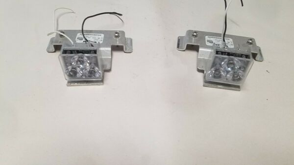 Whelen LED Ally Lights LR11 with mounting brackets as Shown Code3 FedSig SOS