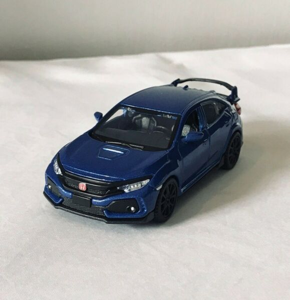 RARE LIMITED EDITION HONDA CIVIC TYPE R 140 SCALE CAR METAL MODEL BY MAISTO