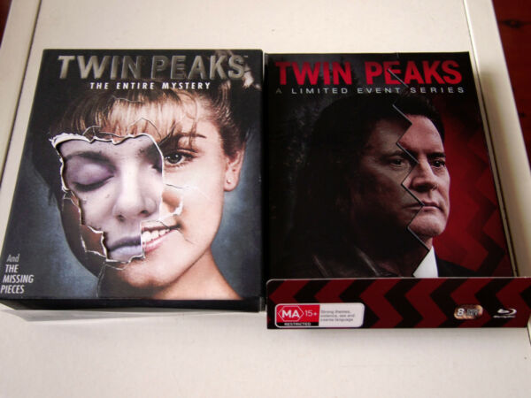 Twin Peaks Complete Blu-ray  The Entire Mystery Limited Event Series  LIKE NEW