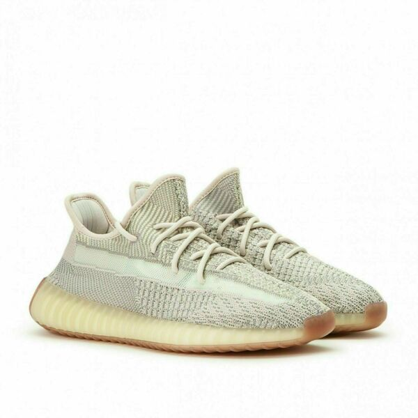 Adidas Yeezy Boost 350 V2 Citrin Non Reflective Kanye West FW3042 Men's NEW