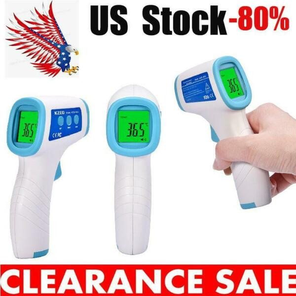 No Touch Forehead Thermometer  Infrared Non Contact Adult Digital Thermometer