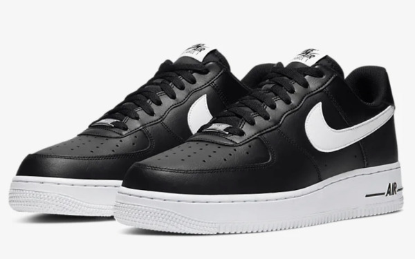 Nike Air Force 1 '07 AN20 Casual Shoes Black White CJ0952-001 Men's NEW