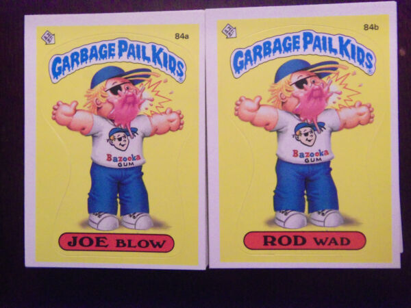 1985 Topps Garbage Pail Kids Series 3 Complete Numerical Set NM Mint Condition