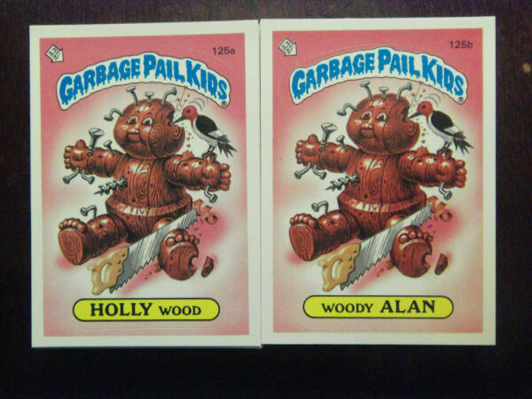 1985 Topps Garbage Pail Kids Series 4 Complete Numerical Set NM Mint Condition