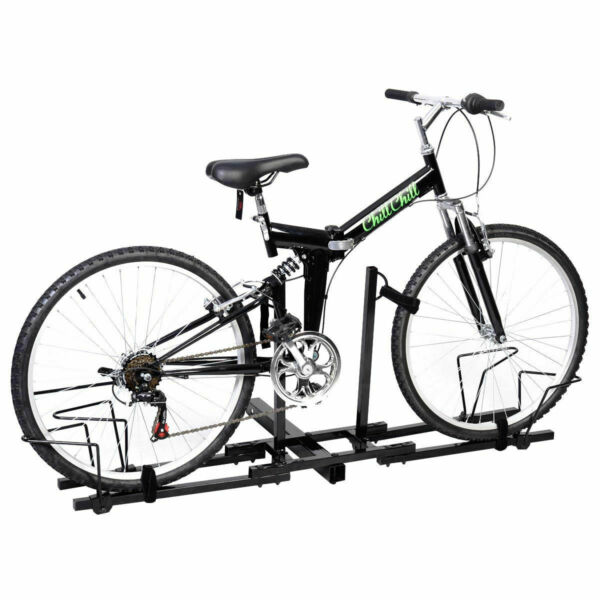 2 Bike Bicycle Carrier Hitch 2#x27;#x27; Receiver Heavy Duty Mount Rack Truck SUV $59.95