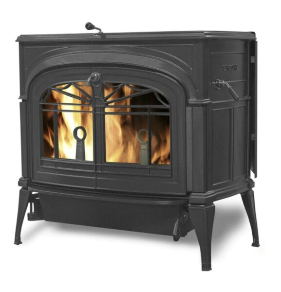 Vermont Castings Encore Classic Black Wood Burning Stove CLEARANCE SALE LIMITED