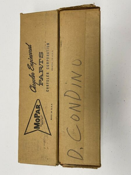 2 Mopar NOS Shock Absorber 2298837 1955 1956 Chrysler Desoto Dodge Plymouth
