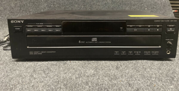 Sony 5 Disc Automatic Disc Loading System $24.99