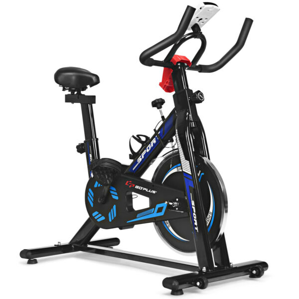 Indoor Cycling Bike Exercise Cycle Training Fitness Cardio Workout LCD Display $199.95
