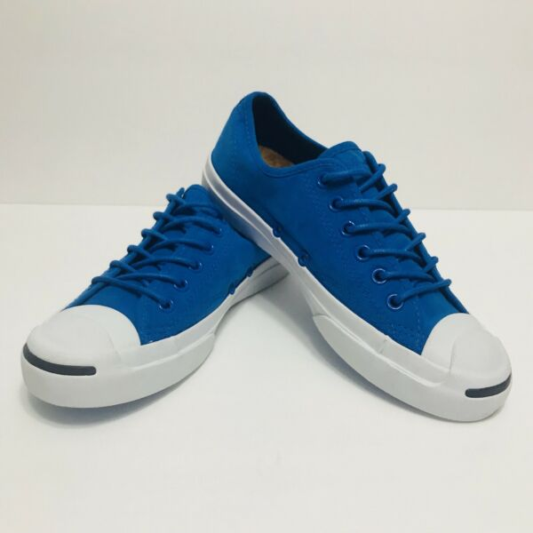 CONVERSE Blue Jack Purcell Signature Canvas Shoes Sz Men' 4 and Women's 6
