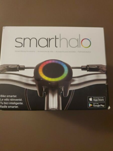 IN HAND SmartHalo Smart Bike Cycling System Alarm Light GPS Navi Brand New $100.00