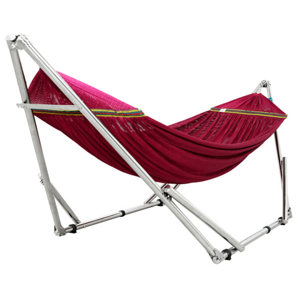 Tranquillo Portable Hammock with Stand Universal Fit Adjustable Hammock Stand $122.75