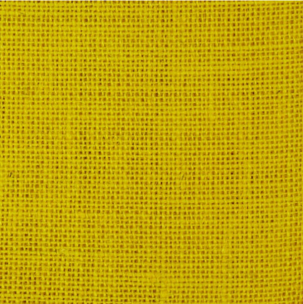 Burlap Jute Yellow 58quot; Fabric by the Yard