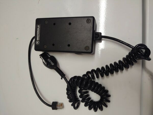 Motorola SLN 3232A Portable Adapter Cellular Connection with cable