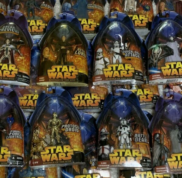 Star Wars Revenge of the Sith Action Figures Your Choice $10.00