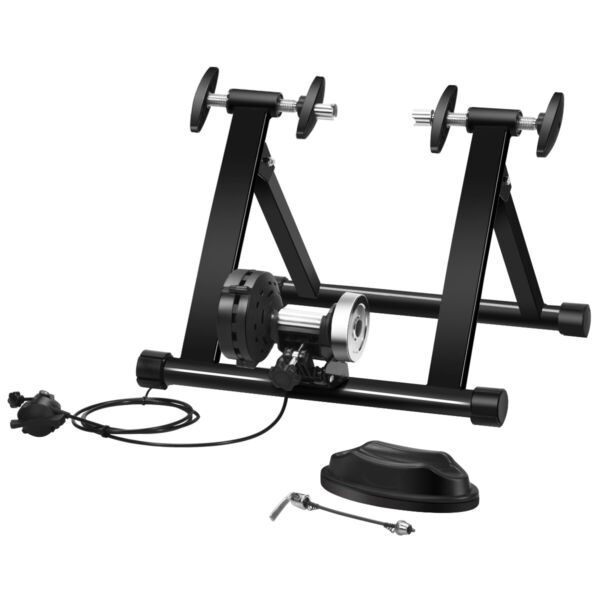 Bike Trainer Stand Indoor Steel Bicycle Exercise Stand w 8 Levels Resistance $82.79