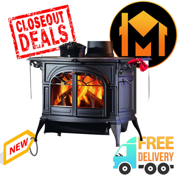 Vermont Castings Defiant Classic Black Wood Burning Stove LIMITED CLEARANCE SALE