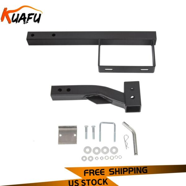 RV Truck Receiver Hitch Spare Tire Mount Heavy Duty Steel Powder Coated Black $74.00