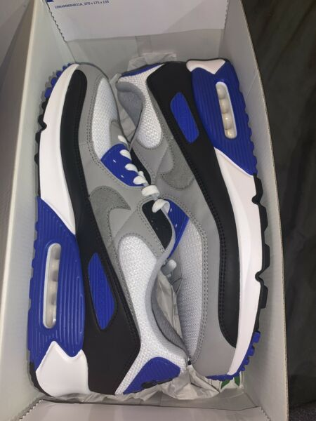 Nike Air Max 90 Recraft Royal Size 13 New In Box Total Orange 1 Lot