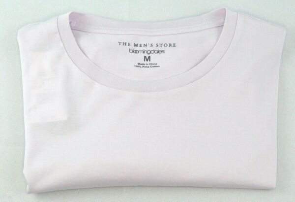The Mens Store Bloomingdales 100% Pima Cotton Crewneck Tee Size M