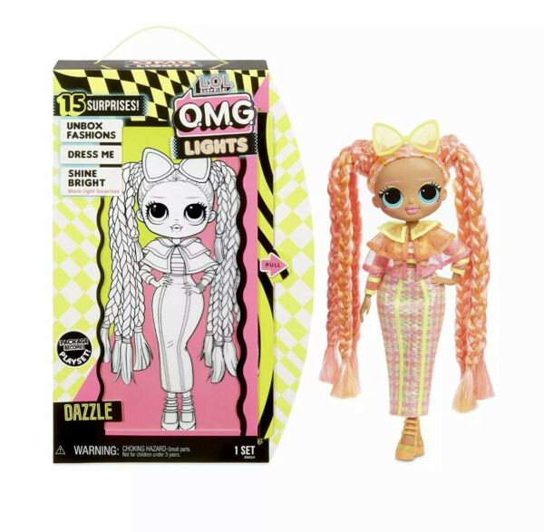 🚛Free Shipping! {New Release} LOL Surprise! OMG Lights Dazzle Doll