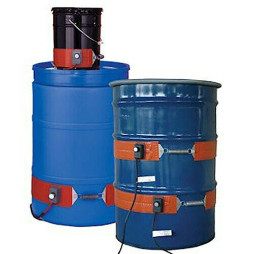 BriskHeat DHCS15 Silicone Rubber Band DrumPail Heaters 55 gal