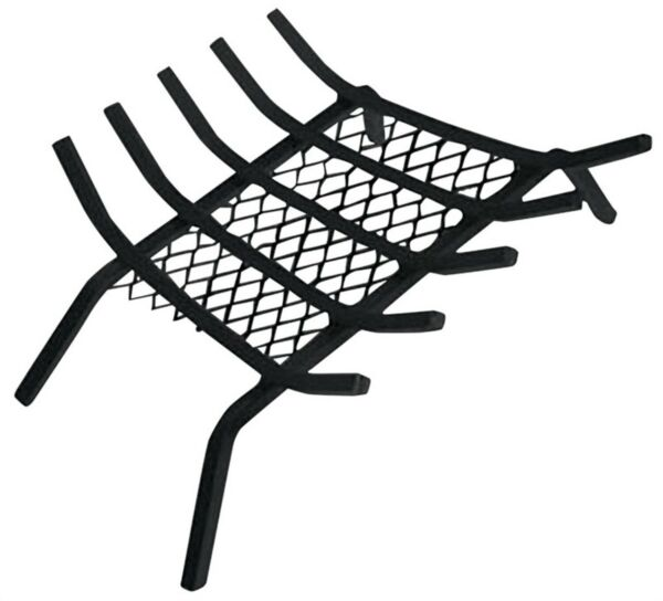 Simple Spaces LTFG-W27 Fireplace Grate With Ember Retainer 27